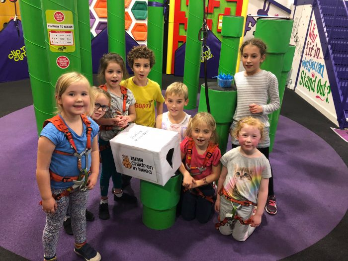 Rockstar group - Children in need box