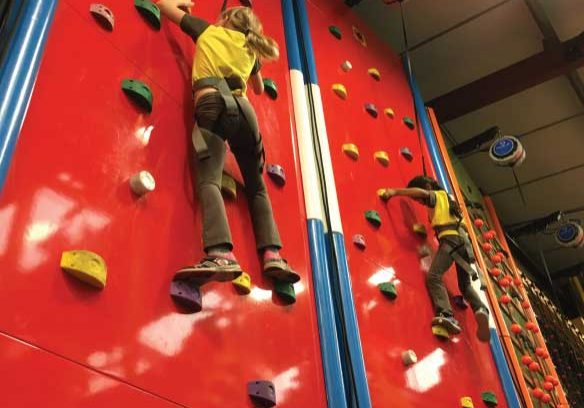 Youth Groups at Climb Quest
