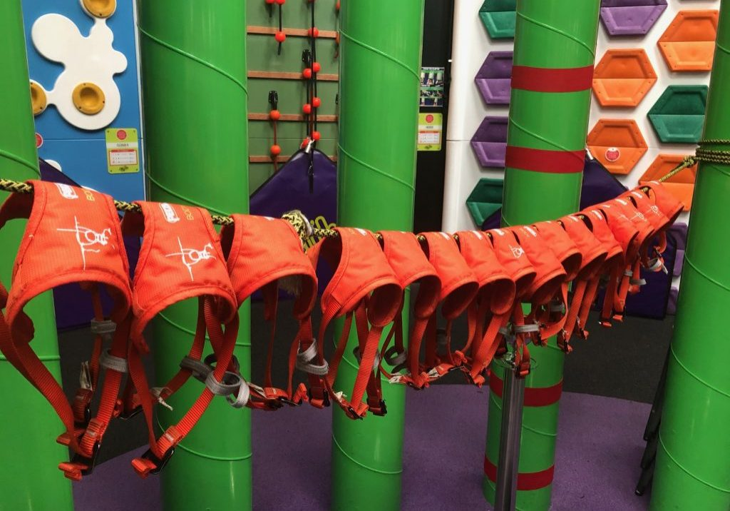 Hanging up our harnesses